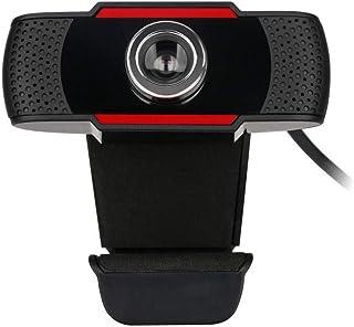 s61Ylu Web Camera HD Built-in Sound-Absorbing Microphone Manual Focusing Computer Camera Webcams Black