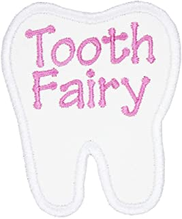 Tooth Fairy Patch in your choice of sew on or iron on patch