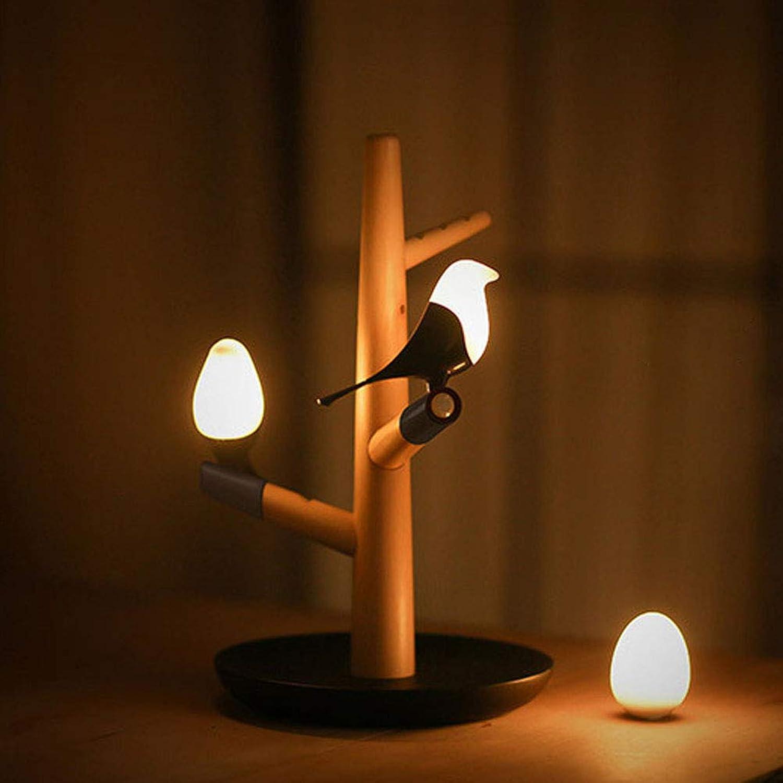 Uonlytech Elster Nachtlicht USB Lade Tischlampe Intelligenter Menschlicher Krper Induktion Nachtlicht für Kinder Schlafzimmer Dekor (zufllige Farbe)