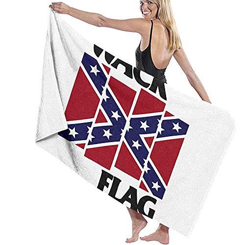 Lfff Wack Flag Soft Absorbente Ligero para baño Piscina Yoga Pilates Manta de Picnic Toallas de Microfibra 80cm * 130cm