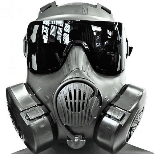 M50 Gas Mask Lens Black Smoke Aftermarket
