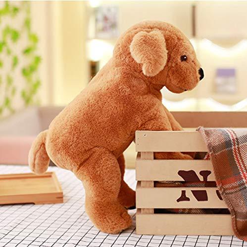Cartoon Labrador Knuffel, Gevulde Pluche Dier Hond Poppen, Baby Sleepping Sussen Speelgoed, Kinderen Verjaardagscadeau 40Cm