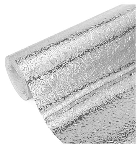 sknonr Aufkleber Küche Öldichte Aluminiumfolie Home Tapete Herd Selbstkleber Spritzen Papier Wand Aufkleberloser Rückstandskleber (Color : B, Size : 0.4X5m)