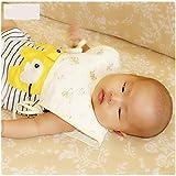 DINGQING 10 PC, Delante del algodón del bebé y Espalda Corta Impermeable Chaleco Babero, recién Nacido la Leche antivómitos Toalla de la Saliva,Natural