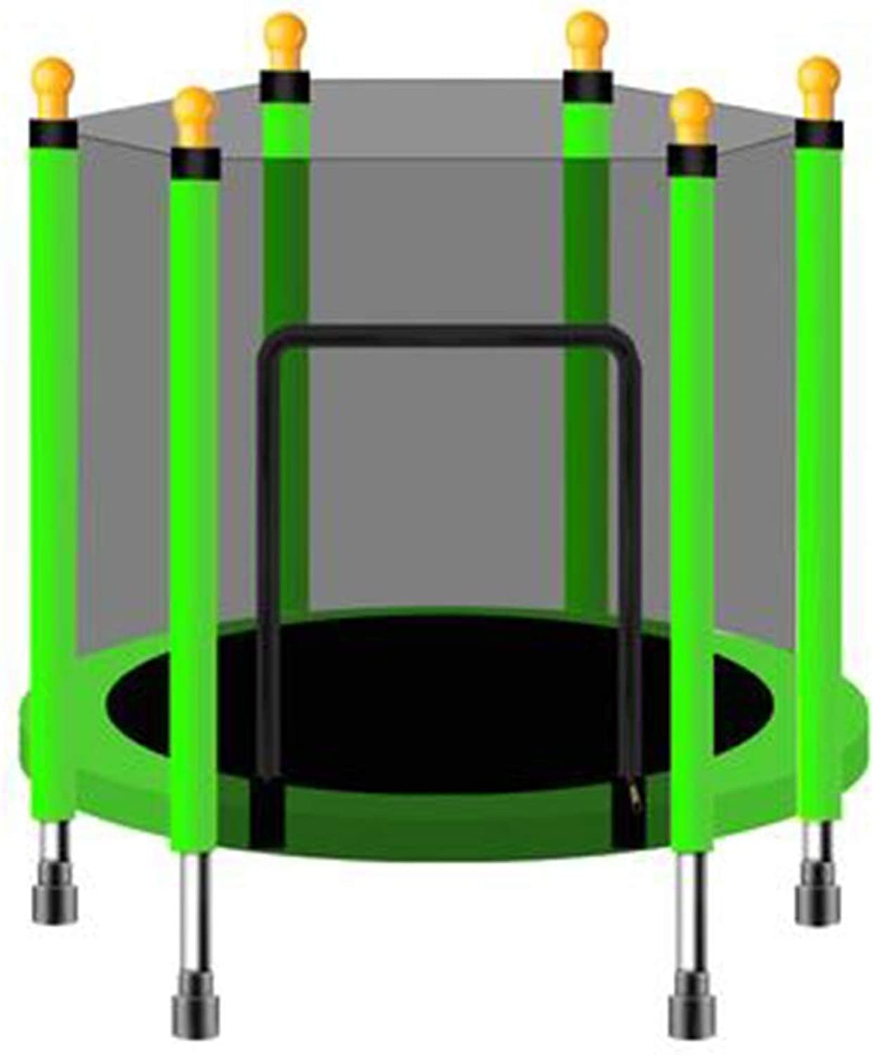HANSHAN Trampoline, Trampoline,Jump Outdoor Trampoline for Family School Entertainment 6 color 2 Size