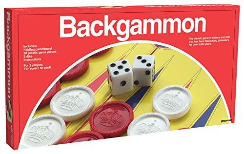 Pressman Backgammon The Classic Game of Chance and Skill That Has Been Fascinating Gamesters for Over 3,000 Years ,5