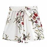 Eaylis Pantaloni Caldi Allentati della Cinghia di Estate della Signora della Cinghia Casuale della Stampa delle Donne Pantaloni