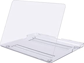 MOSISO Plastic Hard Shell Case Cover Only Compatible with Old Version MacBook Pro 13 Inch (Model: A1278, with CD-ROM), Release Early 2012/2011/2010/2009/2008, Crystal Clear
