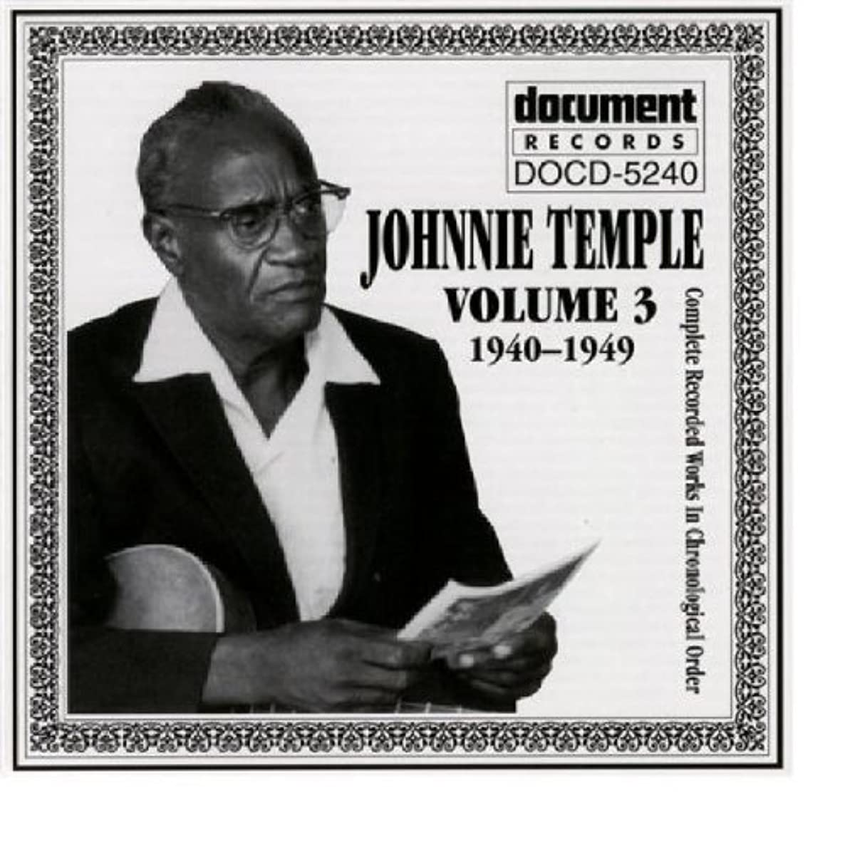 Johnnie Temple 1940- 1949 Vol. 3