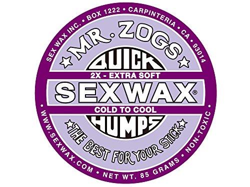 SEXWAX サーフィン用ワックス(2.COLD/2X(パープル),QUICKHUMPS)