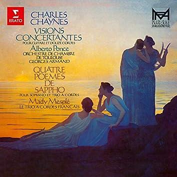 Chaynes: Variations concertantes & Quatre poèmes de Sappho