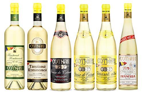 Cotnari | Weinpaket verschiedene rumänische Weißweine 6 x 0.75 L