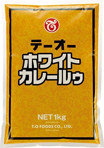 テーオー食品 ホワイトカレールウ 1kg×2個