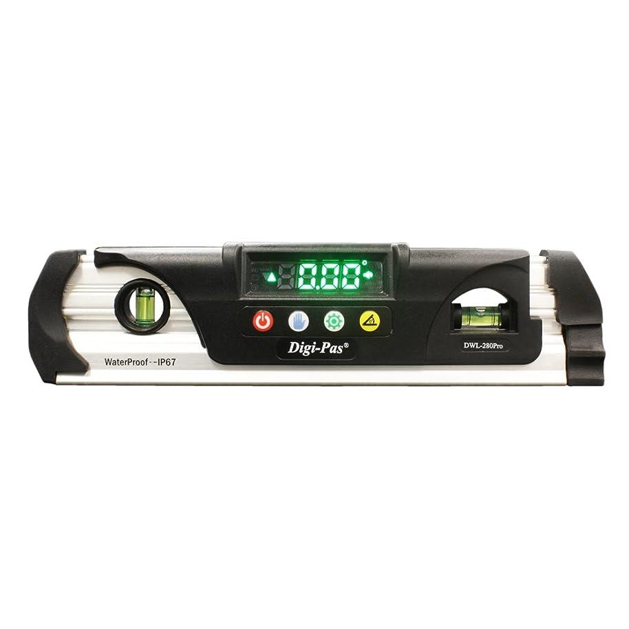 誤解させる民間容赦ないDigi-Pas 防水式デジタルレベル 水平器 0.05° 200mm DWL280Pro