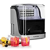 Klarstein Kristal Ice Edition - Machine Crystal Ice, Ice Maker, 2.5 L Tank, 2 Cube Sizes, Display Water and...