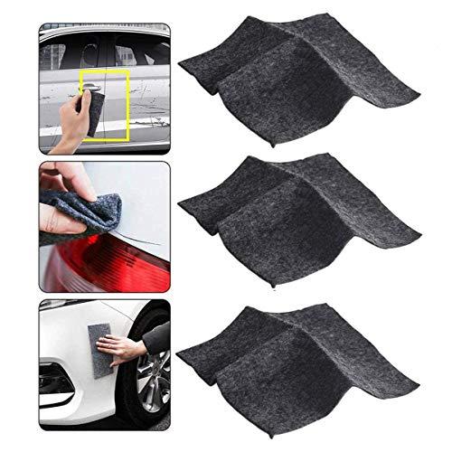 Upgraded Nano Sparkle Cloth, Nano Magic Cloth Multipurpose Car Scratch Repair Cloth for Paint Scratches Repair, Car Scratch Remover Cloth 3Pcs