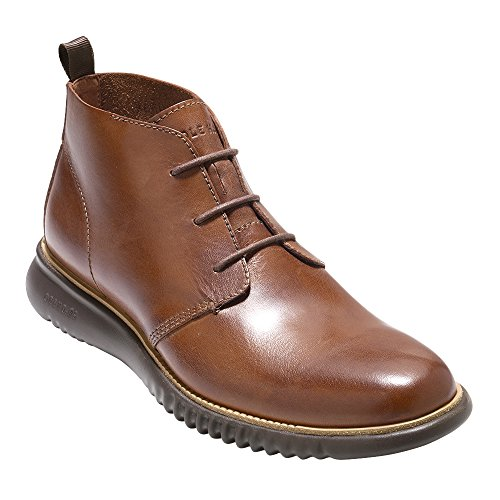 Price comparison product image Cole Haan Men's 2.Zerogrand Chukka British Tan Leather / Java 10 D US