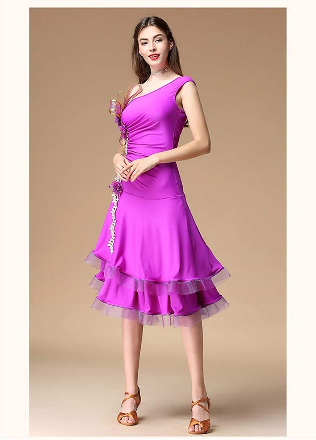 Latin Dance Costumes, Costumes, Adult Competitions, Autumn And Winter Practice Clothes, Dresses