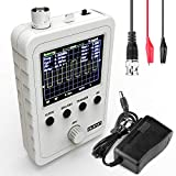 Quimat Updated 2.4' TFT Digital Oscilloscope Kit with Power Supply and BNC-Clip Cable Probe Q15001...