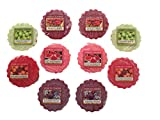 Yankee Candle Fruity Scents Tarts Wax Melts Sampler Pack- 10 Count
