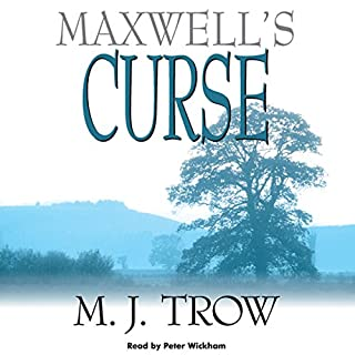 Maxwell's Curse audiobook cover art