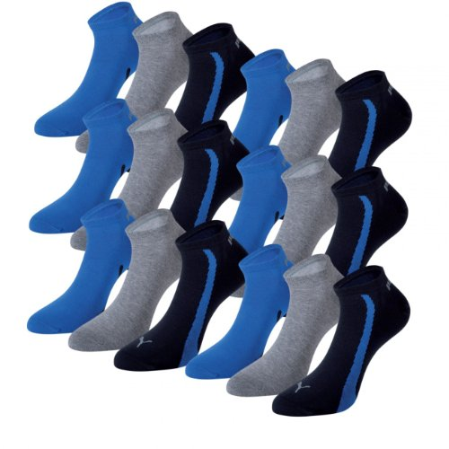 PUMA Unisex Ring Sneakers 201203001 Sportsocken 18er Pack