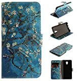 Lenovo Vibe P2 Wallet Movie Stand Case, Awesome Art Paint