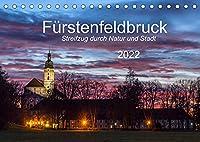 Fuerstenfeldbruck - Streifzug durch Natur und Stadt (Tischkalender 2022 DIN A5 quer): Zwoelf interessante Einblicke in Natur und Architektur der Grossen Kreisstadt im Westen von Muenchen. (Monatskalender, 14 Seiten )