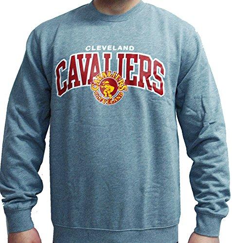 Mitchell & Ness NBA Cleveland Cavaliers Crewneck Sweater Pullover Herren Mens