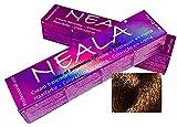 Tinte permanente para el cabello libre de amonio y sin PPD de NEALA, 3.4 fl oz - 7.74- RUBIO MEDIO AVELLANA - NEALA 100ml.