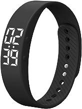 SADA72 Smart Armband, T5s Smart Polsband Fitness Tracker Stappenteller Armband Calorie Counter Timer, Sport Fitness Armband, Geen noodzaak om app te installeren