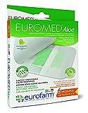Euromed Aloe (cm 10 x cm 10) Apósito estéril hipoalergénico con compresa central en aloe vera de alto poder absorbente y no adherente.
