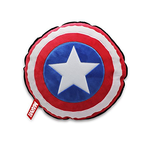 Marvel Cojín Capitán América Shield Negro 2