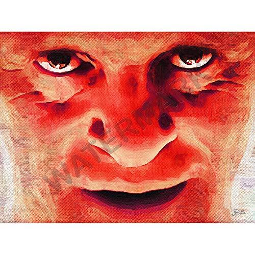 JR Bouvier Hannibal Lecter Hopkins Large Art Print Poster 18x24 inch Große Kunst