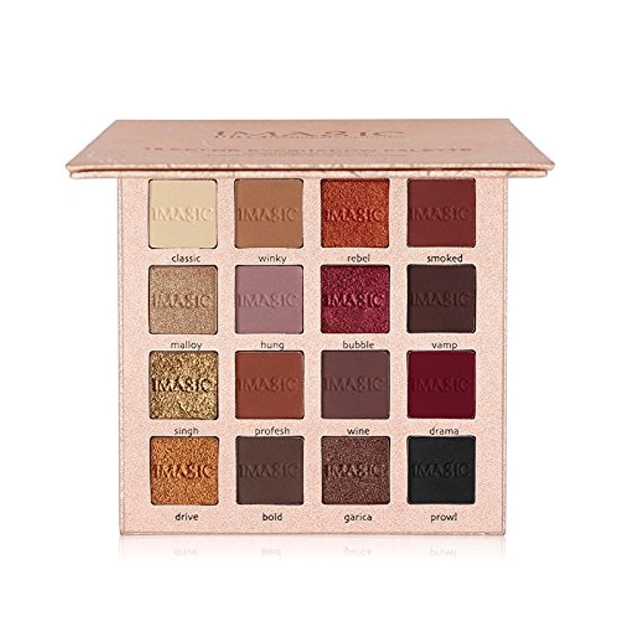 立方体バンゾーンNew Arrival Charming Eyeshadow 16 Color Palette Make up Palette Matte Shimmer Pigmented Eye Shadow Powder