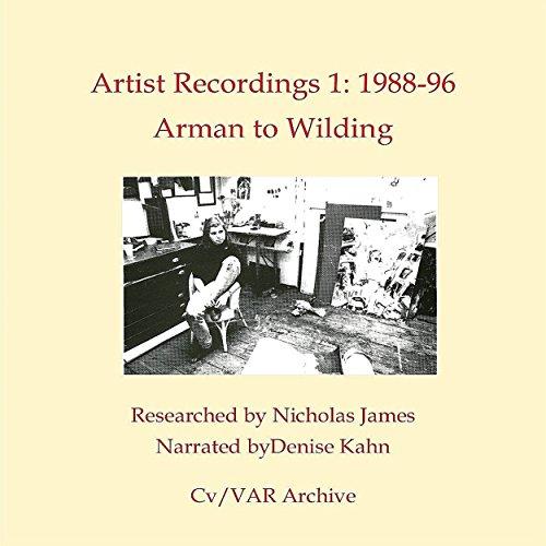 Artist Recordings 1 audiobook cover art