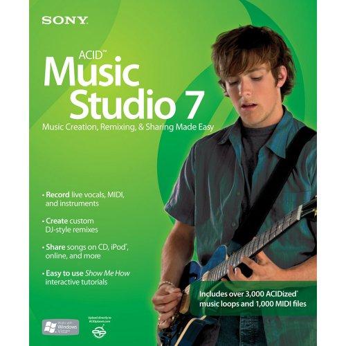 Preisvergleich Produktbild Sony Acid Music Studio 7 (PC)