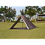 Outdoor Portable Waterproof Camping Pyramid Teepee Tent Pentagonal Adult Tipi Tent with Stove Hole 8