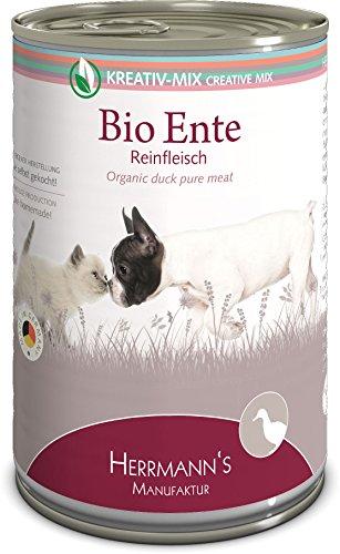 Herrmanns Bio Ente 100 Prozent, 12er Pack (12 x 400 g)