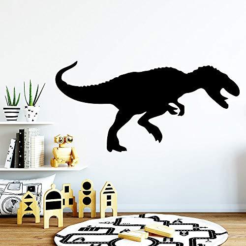Tianpengyuanshuai Niedliche Dinosaurier bewegliche Wandtattoo Vinyl Wandbild Kinderzimmer Dekoration Wohnzimmer Tapete 42X84cm