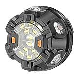 POWERGIANT Luz Emergencia Coche Rotativo LED con Base Magnética y Gancho para Automóvil, Motocicleta, Bicicleta, Camión