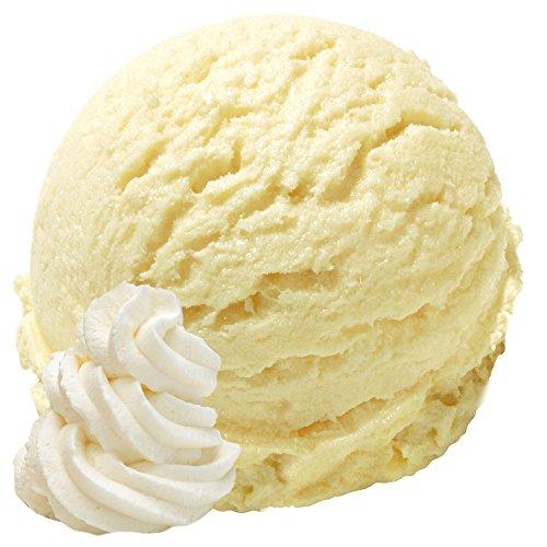 Vanille Sahne Geschmack 1 Kg Gino Gelati Eispulver Softeispulver für Ihre Eismaschine