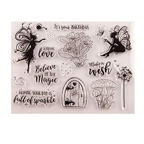 GIMITSUI Store Silicone Clear Stamp (Fairy)