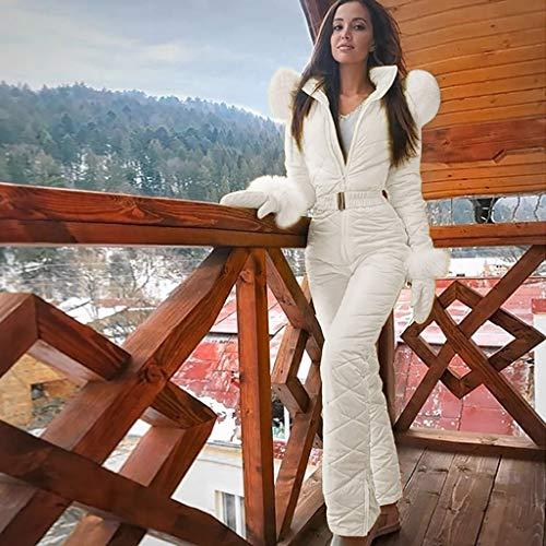 cookin Damen Fashion Casual Thick Hot Snowboard Skisuit Outdoor Sports Zipper Skianzug