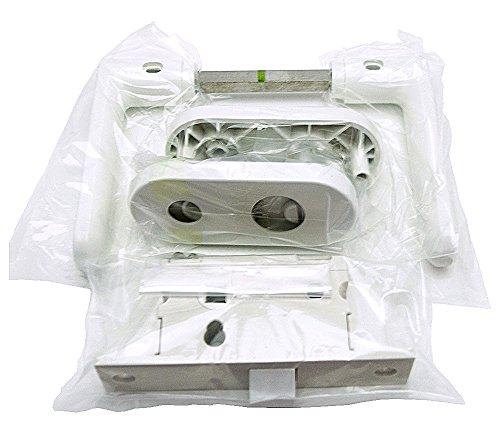 久力製作所 浴室用樹脂レバーハンドルセット KU-AP4-2D-WH-W30