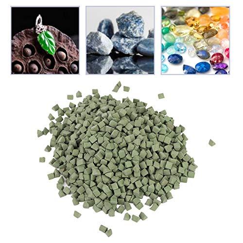 Nannday Tumbling Media,Jewelry Polishing Buffing Abrasive Material Tumbling Media for Tumbler Vibration Machine
