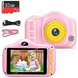 Cámara para Niños Infantil Cámara de Fotos Digital Cámara Juguete para Niños 3.5 Pulgadas 12MP 1080P HD Selfie...