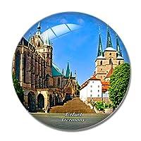 ドイツエアフルト大聖堂冷蔵庫マグネットホワイトボードマグネットオフィスキッチンデコレーション