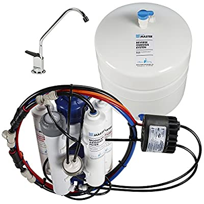 Home Master TMHP HydroPerfection RO system Review - reverse osmosis water filter system