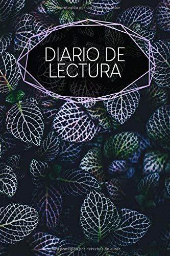 Diario de Lectura: 120 páginas | A5 | Bookjournal | Libro de relleno para todos los lectores ávidos | Diario para los amantes de la literatura | Motivo: Fichas